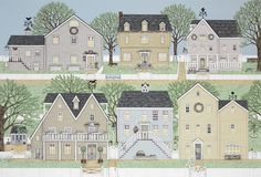 Les jolies maisons de Sally Swannell