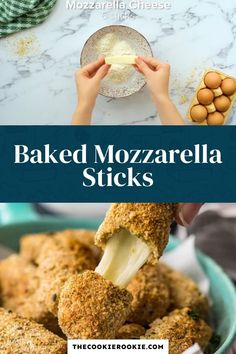 This recipe for baked mozzarella sticks is crispy on the outside and gooey in the middle. They are perfect appetizers for game days, parties or just a cozy night in.  #stringcheese #mozarellasticks #fingerfood #appetizerrecipe #partyfood #gamedayappetizer Crackers Appetizers, Bacon Wrapped Appetizers, Game Day Appetizers, Appetizer Recipes, Appetizer Ideas, Mozzarella Sticks Recipe, Creamy Spinach Dip, Seasoned Bread Crumbs, Delicious Dinner Recipes