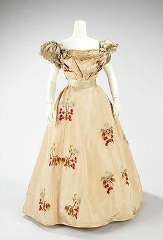 House of Worth Evening Dress, 1898