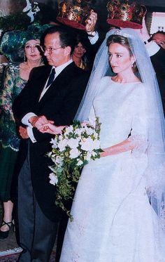 Prince Kardam of Bulgaria married Doña Miriam de Ungría y López in Madrid on 11 July 1996