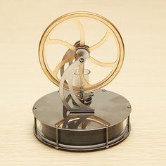 Aliexpress.com: Compre Descoberta brinquedos baixa temperatura motor Stirling modelo educacional brinquedo para criança de confiança brinquedo azul fornecedores em Air toy