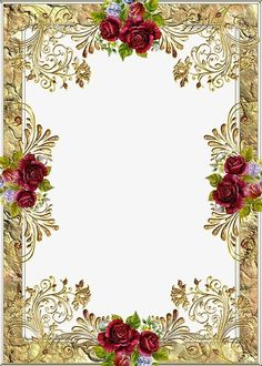 We want to share our dreams and hopes for our child with you. Please come and bless her as we select a suitable name for our little Princess. Frame Floral, Rose Frame, Flower Frame, Frame Border Design, Page Borders Design, Free Printable Stationery, Printable Frames, Borders For Paper, Borders And Frames