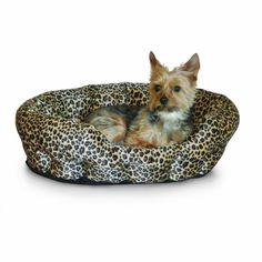 K&H Self Warming 19-Inch Leopard Pet Bed, Brown K&H Manufacturing http://www.amazon.com/dp/B008EP5THW/ref=cm_sw_r_pi_dp_F-guub1JJ200S