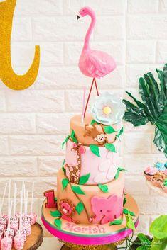 Y Tropical Safari Birthday Party Ideas