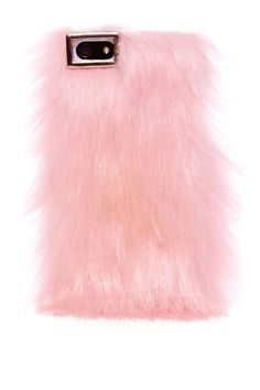 Take your iPhone next level in this awesome pink furry case featuring an easy clip-on style. Perfect for iPhone addicts!