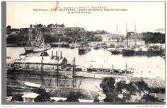 Fort de France, bassin de radoub-baie de carenage-fort-saint-louis