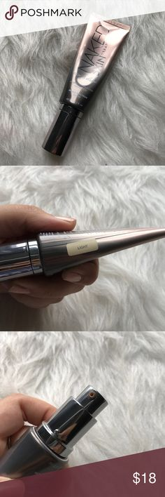 Urban decay naked skin hybrid complexion perfector This has been used a few times. The shade is in light.  Just looking to sell right now, so no trades. 🚫 I don't use any other sites to sell makeup. 🚫 I aim to ship same day. 📩 I always take the shipping price into consideration, please take the sellers fee into yours! 💸 Use the offer button, I might accept! I won't discuss prices in the comments & low ball offers will be ignored. 🗣 If you have any questions, please ask! 🙂 Urban Decay…