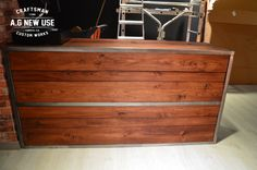 SOHO STREET - Mostrador en hierro y madera