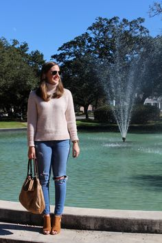 Turtleneck style JCrew via With Style and a Little Grace: Turtleneck