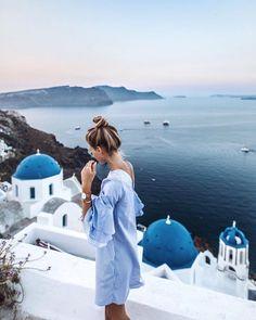 Santorini • p i n t e r e s t // @vivvianne
