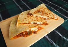 Aneta Goes Yummi: Quesadillas plnené ragú z červenej šošovice a hovädzieho