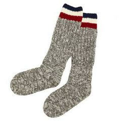 Chunky Knit Calzettoni Wool Ski Socks from Moncler