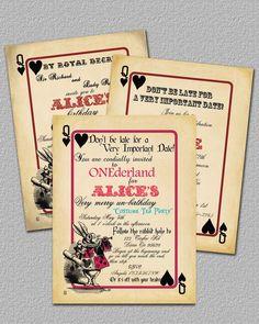 vintage alice in wonderland birthday party - Google Search