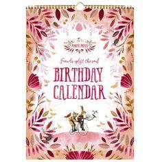 Birthday calendar Pimpelmees