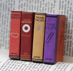 Miniature matchbox books