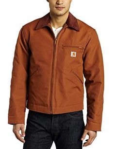 6659177a9e70 Amazon.com  Carhartt Men s Big  amp  Tall Weathered Duck Detroit Jacket  Blanket Lined