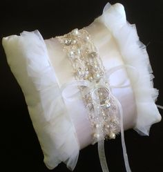 Silk Ring Bearer Pillow ❤