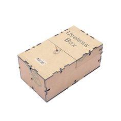 Useless Box - Assemble Yourself Laser Cut Wooden Kit Main
