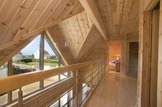 Honka Blockhaus Modell Esquibien Obergeschoss