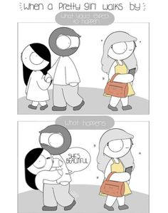 """50 Relationship Comics That May Be Too Sappy For Their Own Good - Funny memes that """"GET IT"""" and want you to too. Get the latest funniest memes and keep up what is going on in the meme-o-sphere. Cute Couple Comics, Couples Comics, Comics Love, Funny Couples, Funny Comics, Couple Cartoon, Funny Puns, Stupid Funny Memes, Funny Stuff"""