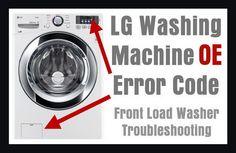 lg washing machine cl code