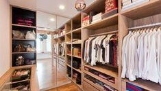 Ways to incorporate walk-in wardrobes in small bedroom | Recommend.my Walk In Wardrobe Design, Bedroom Closet Design, Tv In Bedroom, Closet Designs, Kids Wardrobe, Bedroom Wardrobe, Kids Bedroom, Shoe Cabinet Design, Monochrome Bedroom