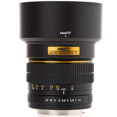 ProOptic 85mm f/1.4 Telephoto Manual Focus Lens for Canon EOS for $240 http://sylsdeals.com/prooptic-85mm-f1-4-telephoto-manual-focus-lens-for-canon-eos-for-240/