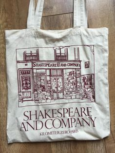 Shakespeare and company tote