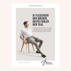 Bakery Branding & Campaign for Joseph Brot, Vienna | Creative agency: Dvorak trifft Schwab | See more: http://www.dvoraktrifftschwab.at/joseph-brot/