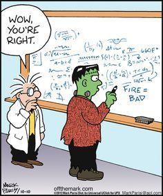 Frankenstein Humor