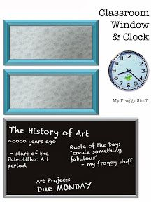 My Froggy Stuff: Art Classroom Printables: For Dolls with Creative Minds: Plus more Classroom Stuff