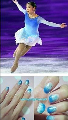 Vancouver 2010 Olympic champion, Sochi 2014 Olympic champion Figure Queen Kim Yuna Pan Beautiful Nail Art *Yuna Kim - You are not alone!* *Yuna Kim - always in my heart* kayrat1976  #1YearSochiScandal #sochi2014 #iceskater #kimyuna #yunakim #김연아 #QueenYuna #金妍儿#キムヨナ #allpodium#юнаким #rememberall#southkorea2014 #olympicchampion#allthatskate #LongLivetheQueen #Grandslammer #pyeongchang201 #FigureSkater #thankUYuna