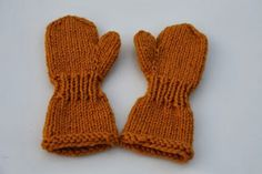 Fun Projects, Baby Knitting, Children, Kids, Knit Crochet, Gloves, Wool, Pattern, Crafts