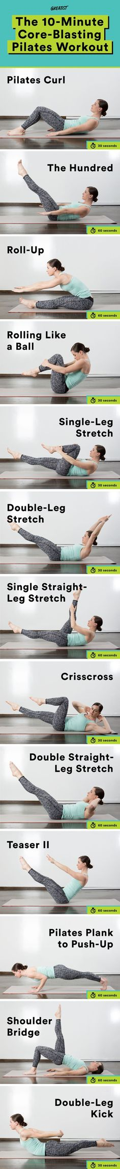 Get a great full-body workout—no fancy equipment or expensive classes required. #pilates #workout Find more relevant stuff: http://victoriajohnson.wordpress.com