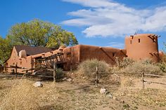 El Rancho de las Golondrinas (The Ranch of the Swallows). This historic rancho, now a living history museum, dates from the early 1700s and was an important paraje or stopping place along the famous Camino Real, the Royal Road from Mexico City to Santa Fe.