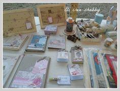 Eli crea shabby & co.: Le mie creazioni per il mercatino di Falconara