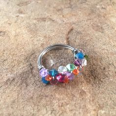 Swarovski Hand Wrapped Ring