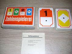Zahlenspielerei Karten zum Rechnen lernen ab 6 Jahre Altenburg DDR 1975 ab 1 EUR
