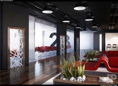 3d visualization / interior design / door on Behance