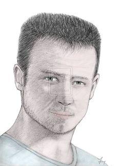 Drawing Felix Baumgartner by carlosirigoyen.deviantart.com on @deviantART