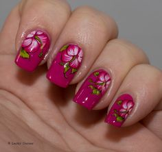 """Theme: United In Pink (for Pink Ribbon Campaign) ~ """"Pink with Hibiscus""""! By 'LackyCorner.com'<3<3<3"""