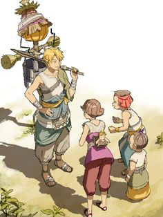 Legend of Zelda: Twilight Princess- Link, Beth, Talo, and Malo