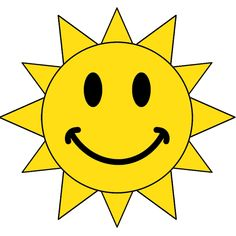Smiling Sun Face   Clipart Panda   Free Clipart Images