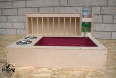 Nibbler Combo, bunny rabbit hay and food feeder with built in litter box and a free standing water bottle holder, hay rack, hay feeder Rabbit Life, House Rabbit, Pet Rabbit, Hay Feeder, Food Feeder, Bunny Cages, Rabbit Cages, Bunny Litter Box, Bunny Hutch