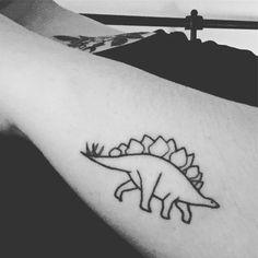 Stegosaurus #dinosaurtattoo