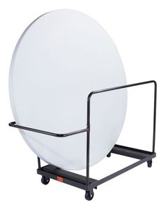 """Storage and Transport Dolly for 72"""""""" Round Folding Tables - 8-10 Capacity"""