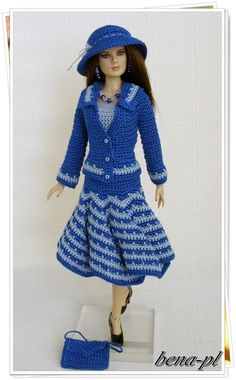 """bena-pl  Clothes for Tonner Suzette, Revlon 13"""" OOAK outfit in Dolls & Bears, Dolls, By Brand, Company, Character, Tonner, Other Tonner Dolls 