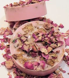 Yum! Rose soap by EcoChic Soaps on etsy, $6 Decorative Soaps, Rose Soap, Rose Gift, Soap Maker, Luxury Soap, Soap Packaging, Vegan Beauty, Soap Recipes, Home Made Soap