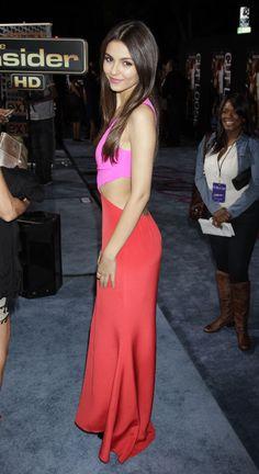 Victoria Justice, Footloose Premiere, Los Angeles, October 3, 2011