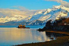 Valdez, AK: next to Richardson Mountain Range where X Games are frequently filmed.